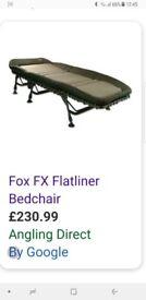 Fox flatliner for sale £100 comes with nash frostbite 5 season bag