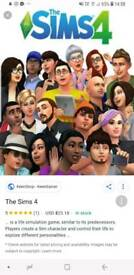 Sims 4 Xbox Game