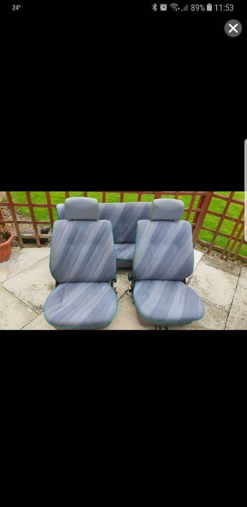 Mk2 Vw Polo Breadvan Interior