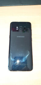 Samsung Galaxy S8 Midnight Black 64GB (Cracked Screen in working order othervise)