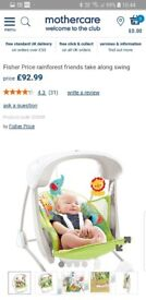 Fisher Price baby swing, excellent condition