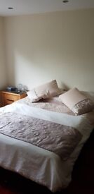 Kingsize bed with mattress