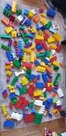 301 pieces of Megabloks