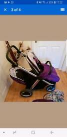 Oyster max 2 double tandem stroller
