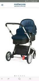 Mothercare Roam Travel System in Petrol Blue