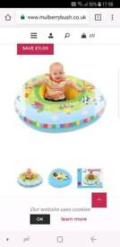 Baby 2 in 1 playnest ring seat and baby bed