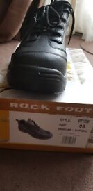 Rock foot safety boots