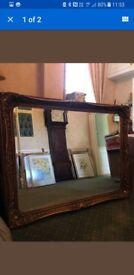 Beautiful gold mirrors
