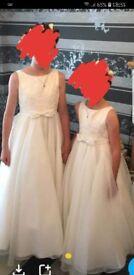 2 flowergirl dresses