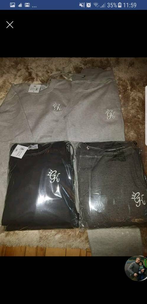 Gym king tracksuits