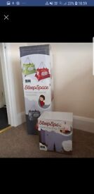 Travel cot & teepee brand-new in box