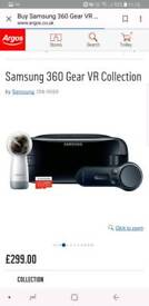 Samsung gear 360+gear vr