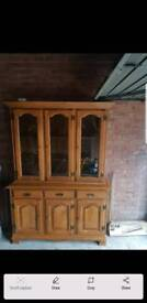 Wood cabinet