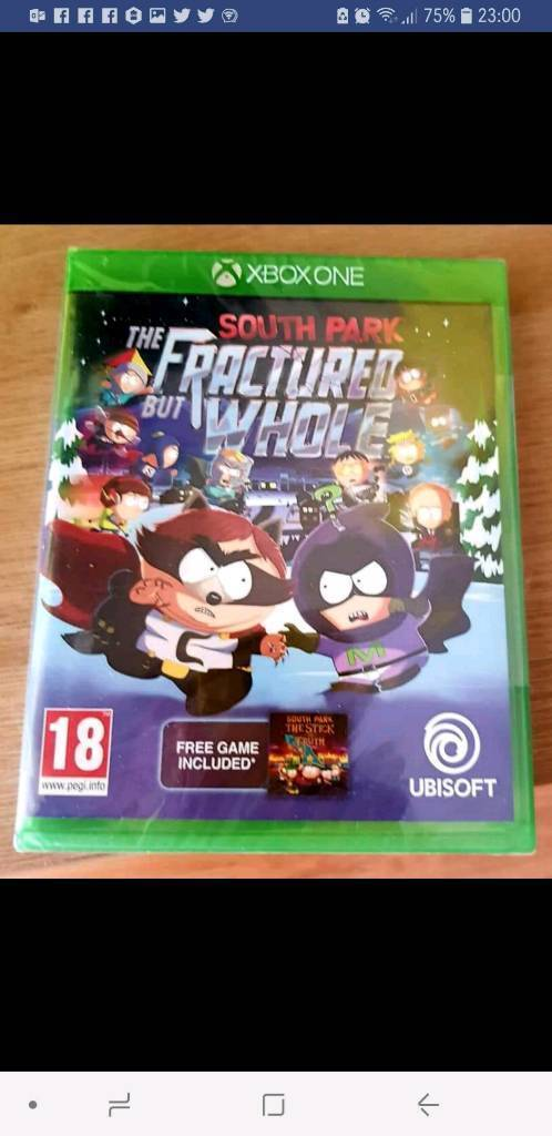 South Park Game - The Fractured But Whole with free bonus game code - Brand  New & Sealed - XBOX One  | in Chadderton, Manchester | Gumtree