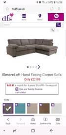 Dfs Elmore corner sofa