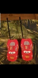 Disney Cars 2 - Lightning McQueen Kids Walkie Talkies