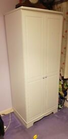 Wardrobe, chest of drawers and beside table