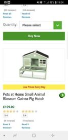 2 hutches and a cover worth over £200