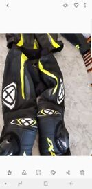 Nearly new leathers