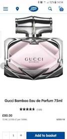Brand new Gucci Bamboo Perfume 75ml