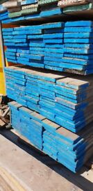 Large quantity of surplus Used Scaffold Tube, Boards and Couplers for sale.