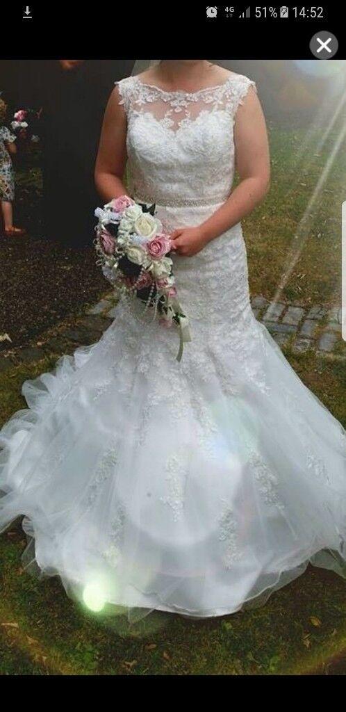 Mori lee fish tail wedding dress   in Stockton-on-Tees, County ...