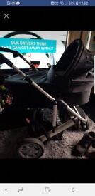 Mammas and Pappas zoom travel system