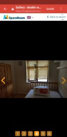 double room available in Dagenham.easy going landlady and other lodger.. .fairly quiet house