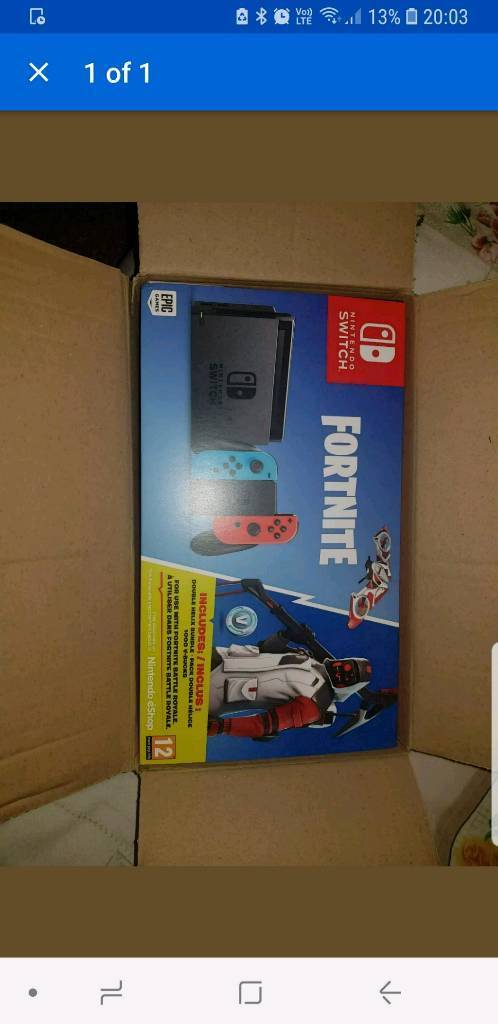 Nintendo Switch With Fortnite Bundle In Liverpool Merseyside