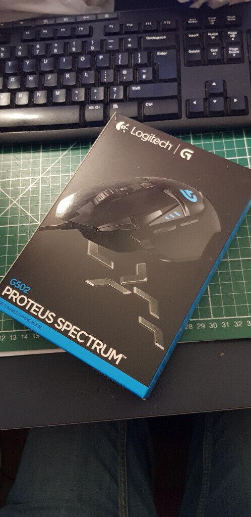 6521c1d5e76 [New] Logitech G502 Proteus Spectrum Gaming Mouse | in Southsea ...