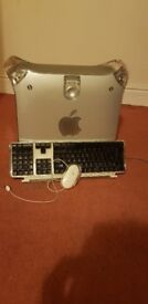 Power mac g4 model number m8570 also comes with keyboard and apple mouse