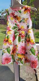 Girls beautiful Next dress aged 4 years