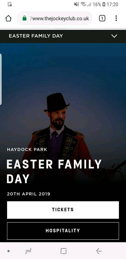 ed9796dfd0d45 8x race day tickets - Haydock park