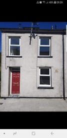 3 bedroom 3 storey house to rent in maerdy refurbished throughout.bond and rent in advance required