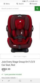 Joie every stage car seat, like new!