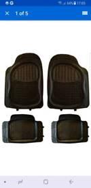 Brand new heavy duty rubber car mats