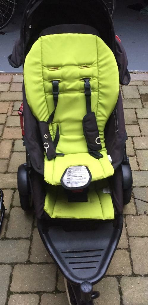 Phil and Teds Dot double buggy with extras