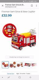 Fireman Sam Drive and Steer Jupiter