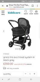 Graco Evo travel system and isofix base
