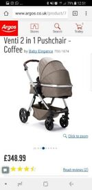 Brand new Venti 2 in 1 Pushchair