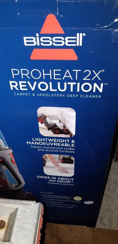 Bissell Proheat 2x Revolution Carpet Upholstery Cleaner In Alloa