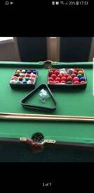 Dunlop Snooker/pool table foldable