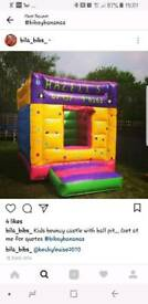 Commerical bouncy castle ball pit