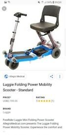 Luggie mobility scooter like brand new