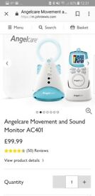 Mothercare angel baby monitor