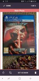 Tekken 7 Ps4 like new