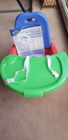 Toddle Table booster seat