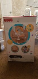 Fisher price 3 in 1 baby swing bouncer rocker and chair