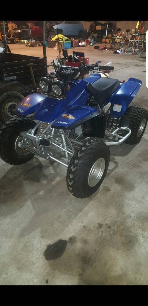 Yamaha warrior 350 quad