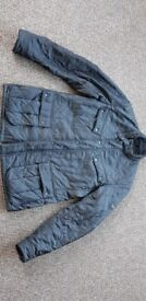 BARBOUR international mens jacket. Black. Size XL